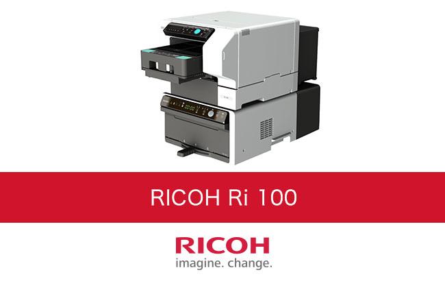 衣類に直接プリント「ガーメントプリンター RICOH Ri 100」