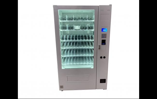 高額紙幣対応 スパイラル型 自動販売機 配達から設置まで対応(屋内、2階以上にも設置可能) 配送設置費用無料